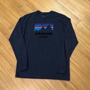 Patagonia Whistler Mountain Long Sleeve T-Shirt